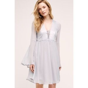 NWT Anthropologie Ghost Belled Peasant Dress